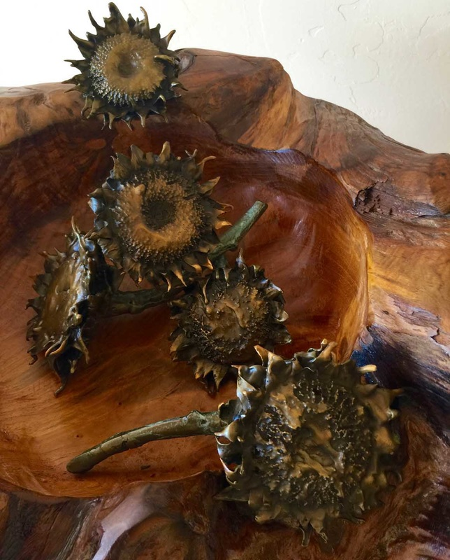 Bowl of Sunflowers, by Candace Greenburg